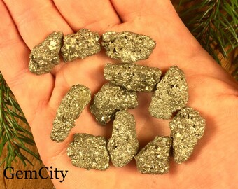 Pyrite - Fools Gold - Fools Gold Nugget - Pyrite Nuggets - Bulk Stones - GemCity