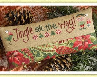 Lizzie Kate Cross Stitch Kit - Jingle All the Way #K74