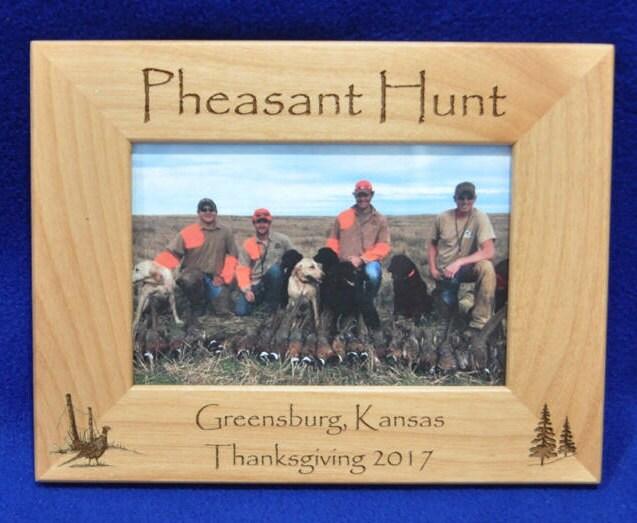 Hunting Frames Pheasant Hunting Frame Hunting Gift Gift