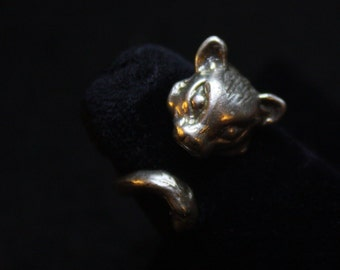 Weasel Wrap - Sterling Silver Ring