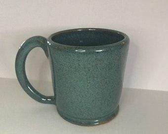 Handmade ceramic mug - KY bluegrass glaze