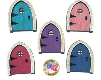 Fairy Door - Wood Fairy Door - Tooth Fairy Door - Wooden Fairy Door