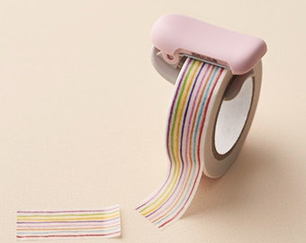 Washi Tape Cutter, Karucut, Kokuyo - tape cutter, washi cutter, Karucut tape cutter, Kokuyo tape cutter, washi dispenser, tape dispenser