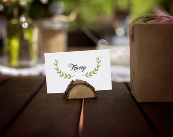 Printable Place Cards for Wedding, Bridal Shower, Birthday Party, Wedding Reception