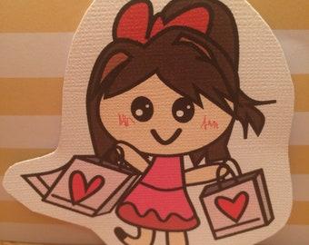 Shopaholic Kelly Planner Die Cut(s) or Sticker(s)
