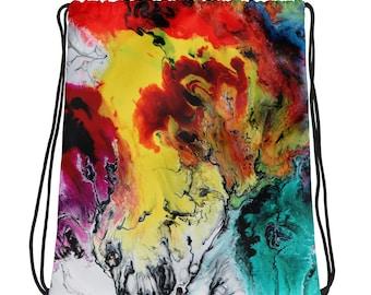 Color Storm Drawstring bag