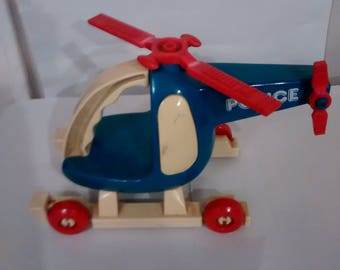 Vintage Buddy L Helicopter