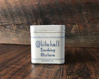 Original Whitehall Smoking Mixture Tobacco Tin