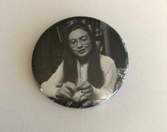 "Vintage Hillary Clinton 2 1/4"" Pinback Button"