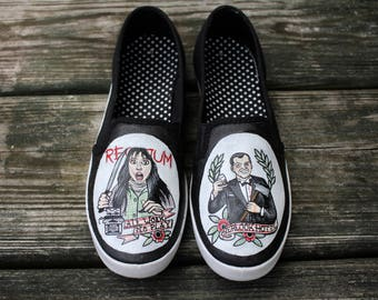 The Shining Custom Hand Painted Shoes