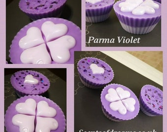 Parma Violets wax melt cup