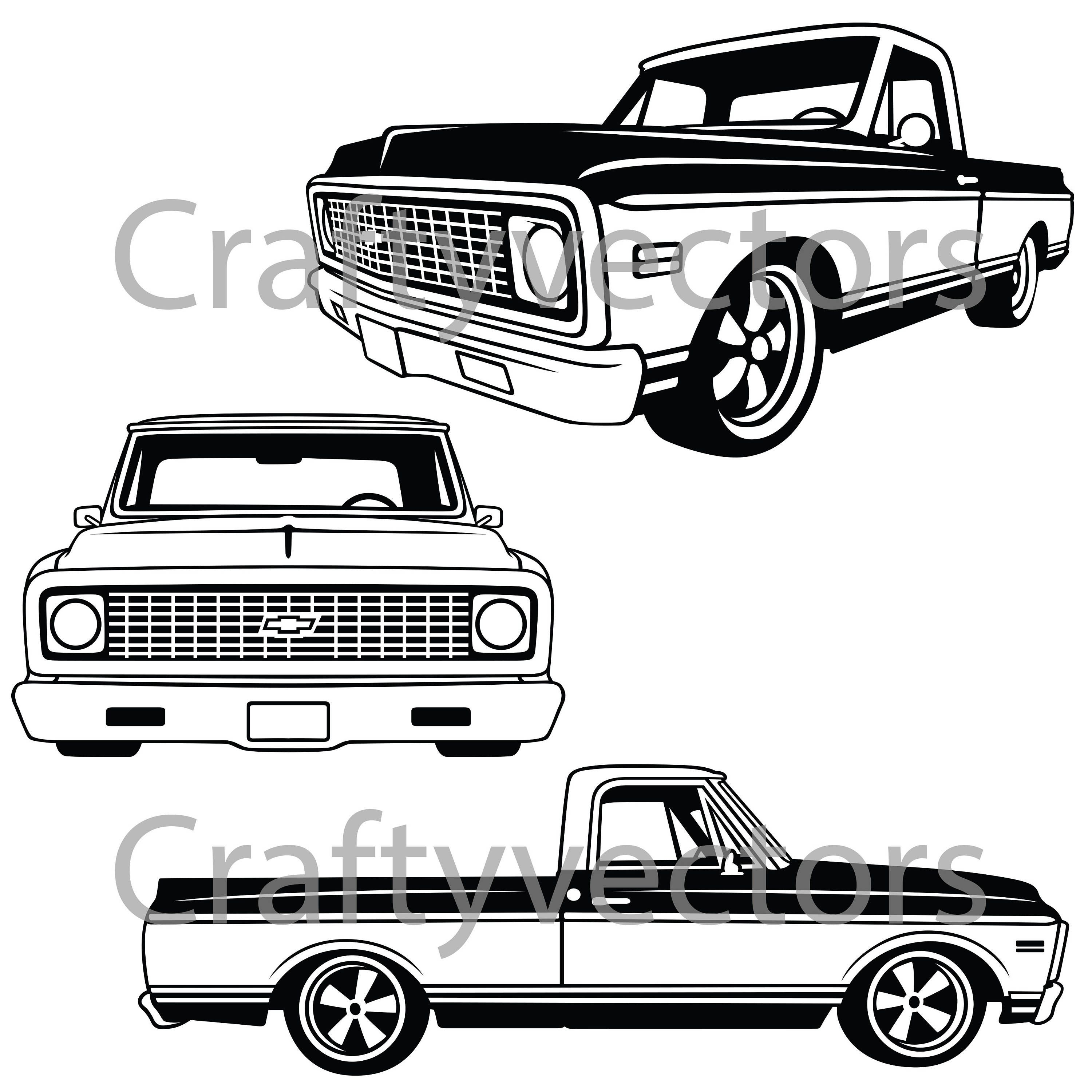 chevy silverado decal square body outline picsbud OBS Chevy Z71 chevrolet truck to vector file 3000x3000 chevy silverado decal square body outline