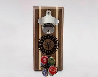 Seattle Mariners Magnetic Bottle Opener