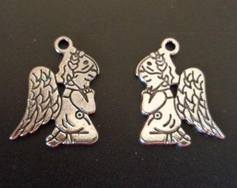 Praying Angel Charm - Christian/Insirational Charm - low shipping