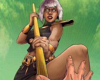 "Obsidia - Disciples of Umex 11x17"" Print"