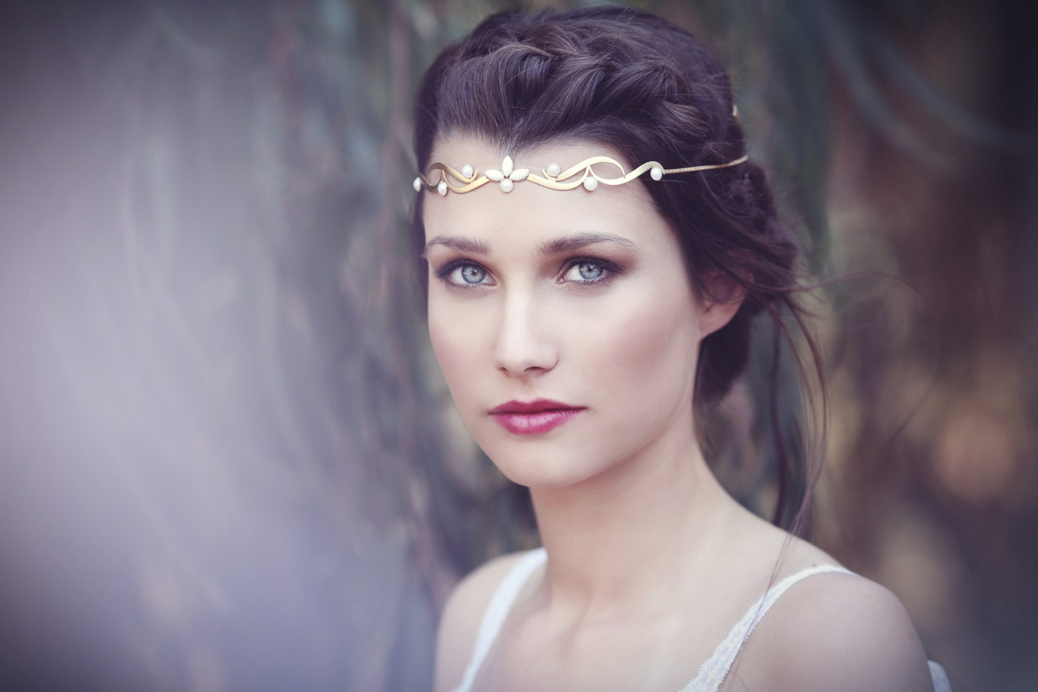 The Trible Wreath Bridal Hair Accessories Gold Fantasy