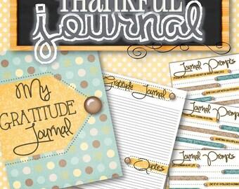 Gratitude/Thankful Journal - INSTANT DOWNLOAD