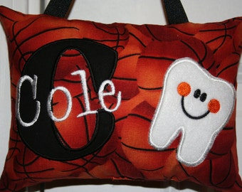 Tooth Fairy Pillow for Boys - Personalized Gift - Christmas - Birthday - Sports - NBA