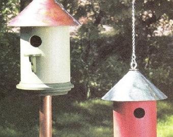 Round Bird House Woodworking Plans