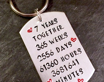 His and hers keyring etsy