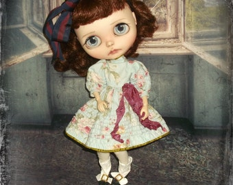 Blythe ~ Vintage Little Bo Peep Inspired with  Pintucking~ By KarynRuby