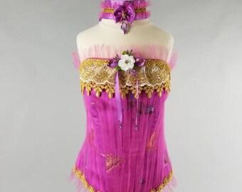 Corset For Girl, Marie Antoinette Costume, 18th Century Corset, 18th Century Closing, Marie Antoinette Dress.