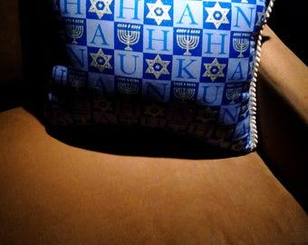 Hanukkah Menorah and Star of David