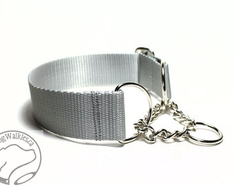 """Mix and Match 1.5"""" (38mm) Wide Chain Martingale - Your Choice: Size and Color"""