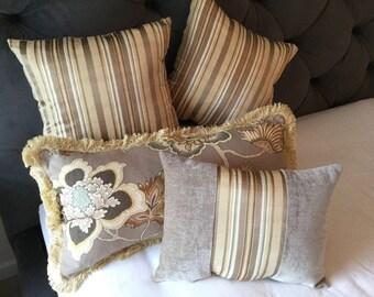 Decorative pillows Samoan plantation