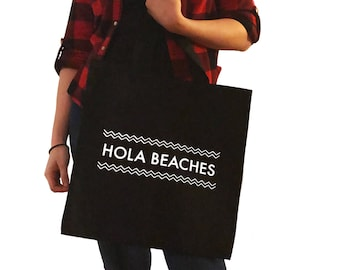 Hola Beaches Tote Bag/Purse