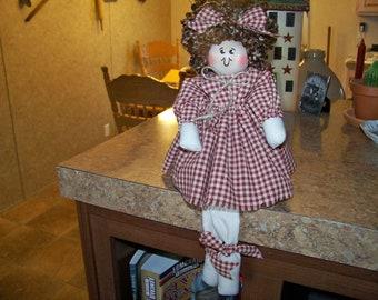 Inspirational Shelf Sitter Doll