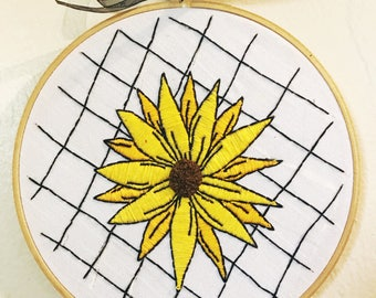 Sunflower Embroidery Home Decoration