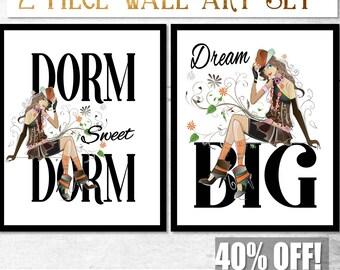 Funny Dorm Decor, Funny Dorm Wall Art, Dorm Sweet Dorm, Dorm Art, Dorm Wall Art, Dorm Room Art Print, Dorm Art Funny, College Wall Art