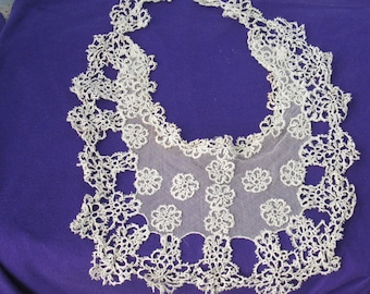 Heirloom Lace Dress Insert/Collar