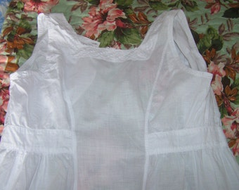 Beautiful Vintage Maid's apron ~ dress pinny Downton Abbey, Railway Children~ Edwardian full length apron ~ 1900