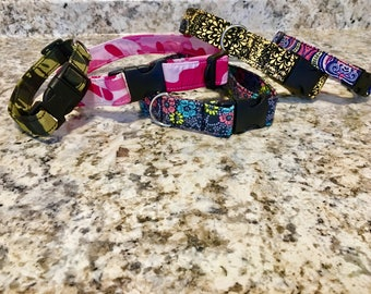 Adjustable dog collars