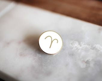 Aries Lapel Pin