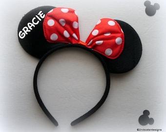 Brand new-LIMITED QUANTITY Custom Personalized Mickey Disney ears!