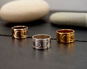 Ring motive, Sterling Silver