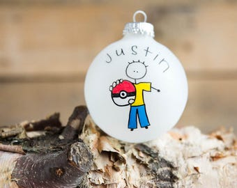 Pokemon Go Christmas Ornament - personalized for free