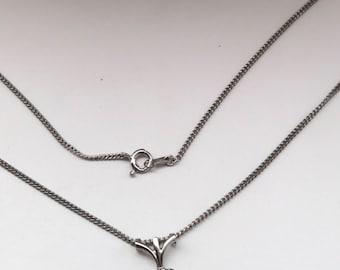 Most Beautiful Jabel  Diamond Halo Necklace