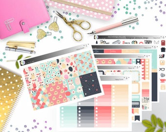 weekly kit - Happy Easter (Erin Condren and Happy Planner Stickers)
