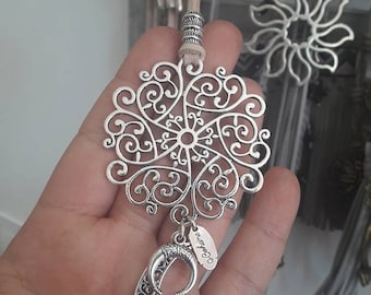 Bohemian jewelry, boho necklace, woman necklace, collar mujer, collar boho, collar zamak