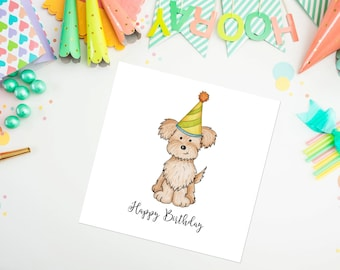 Pomapoo Birthday Card - Pomapoo - birthday card - ideal for dog lovers