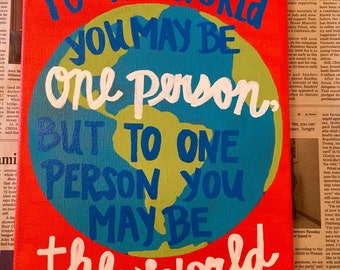 Dr Seuss Quote about the world