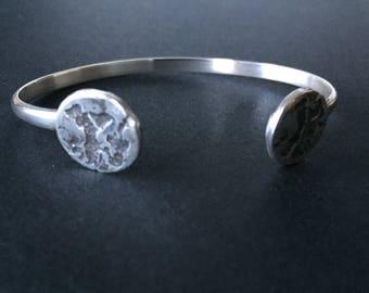 Moon Cuff Bracelet ~ Moon Bracelet ~ Silver Bracelet ~ Bracelet ~ Cuff Bracelet