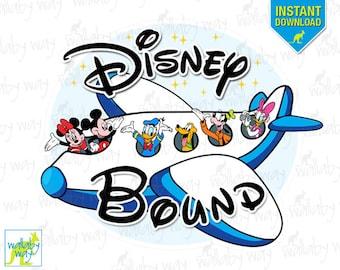 i m going to disney world mickey airplane printable iron rh etsy com disney world clip art free images disney world clipart free