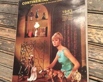 Vintage Merchandise Catalog  1967 Catalog Continental-Harrison  - Vintage Ephemera
