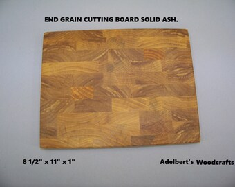 Ash End Grain Cutting Boards For Sale. Shipped by priority mail 2 to 3 days delivery.