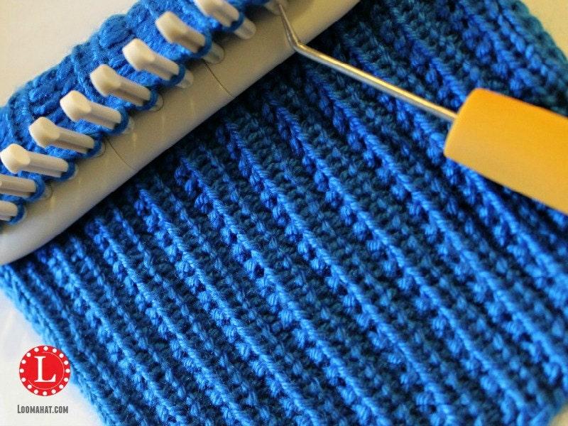 Loom Knit Stitch Pattern The Farrow Rib Stitch With Video